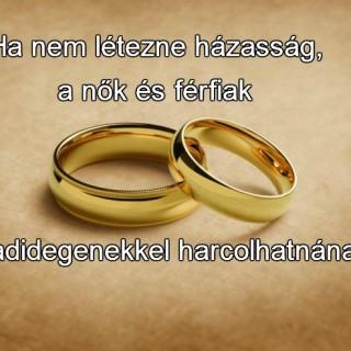 mondás a házasságról